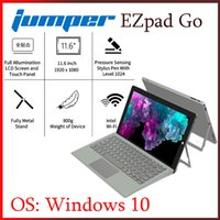 Wholesale 11.6 tablet intel resale online - Jumper EZpad Go in Tablet PC inch IPS Display windows tablet GB RAM GB GB Intel Apollo Lake N3450 with pen