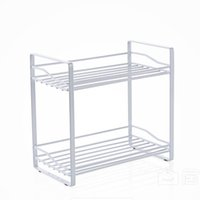 Wholesale spices racks resale online - Saving Space Organizer Iron Art Spice Rack Tier Kitchen Shelf Seasoning Bottle