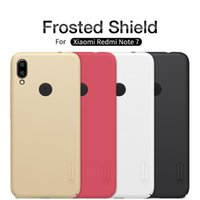Wholesale nillkin matte hard cover case for sale – best Cgjxswholesale Redmi Note Pro Case Nillkin Frosted Pc Matte Hard Back Cover Case For Redmi Note Gift Phone Holder