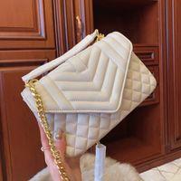 Wholesale handbag colors resale online - Designer luxury Classical Handbags Women Shoulder handbag colors feminina clutch tote Lady bags Messenger Bag purse Shopping Tote