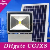 Wholesale outdoor led lights china for sale - Group buy Outdoor Solar Led Flood Lights w w lm Lamps Waterproof Ip65 Lighting Floodlight Battery Panel Power Direct From Shenzhen China