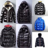 Wholesale black mens hats resale online - Winter Jacket Designer Maya Clothing Goose Warm Coats Outdoor Online winter jacket Winter Jacket Parka Classic Mens Down