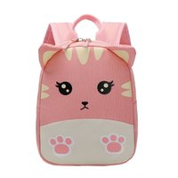 Wholesale pony girl cartoon resale online - Children s Small bag cartoon anti missing backpack for boys and girls baby waterproof small bag baby cute Pony backpack