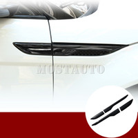 Wholesale land rover for sale - Group buy For Land Rover Range Rover Evoque Fender Side Air Vent Cover Trim Black Silver