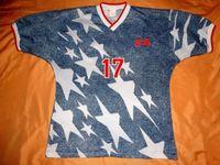 Wholesale usa soccer uniforms for sale - Group buy America retro soccer jersey classic football shirt vintage Camisa de futebol Home USA national team United States uniform