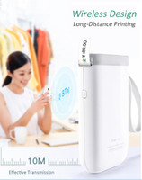 Wholesale stickers printers for sale - Group buy D11 Mini Pockect Wireless Thermal Label Printer Portable Bluetooth Sticker Printer Home Use Office Fast Printing Lable Maker Online Shop