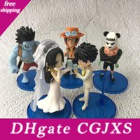 Wholesale 2019 New One Piece Wcf Treasure Wedding Lady Emperor Luffy Phantom Princess Pandaren Nightmare Marriage Pvc Toys
