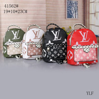 Wholesale leather baby diaper bags resale online - Hot New Fashion Multifunctional Diaper Backpack Multi color Baby Mommy Changing Bag Mummy Backpack Nappy Mother Maternity Backpacks