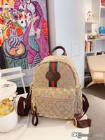 Wholesale Female Topped Backpack Joker Bag Fashion Genuine Leather Shoulder Bucket Handbag Vintage Women Womens Bags Woman Handbags