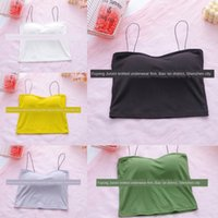 Wholesale sexy girls oil painting resale online - Original oil painting Underwear spring and new summer cotton women Girl vestVest vest underwear beauty back camisole for sexy SAMxm