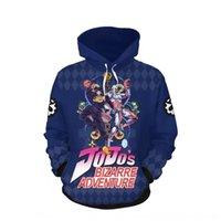 Wholesale video games characters resale online - New jojo bizarre zipper Jacket zipper classic animation adventure surroundings character jacket video anime game fVVGM