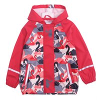 Wholesale cold gear for sale - Group buy R6LoW spring new Jacket rain gear children s Children s and girls waterproof windproof and cold proof raincoat poncho outdoor jacket r