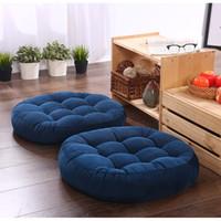1Pcs Round Shape Floor Seat Cushion Soft Cotton Core Cotton Tatami Cushion Pillow Home Decoration Car Soft Sofa Cushion Y200723