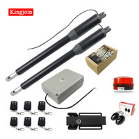 Wholesale remote linear actuator for sale - Group buy High quality automatic door opener motor linear actuator with remote control and electric lock double door opener optional