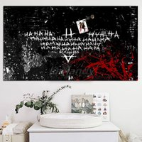 Wholesale joker poster resale online - Joker Hahaha Background Thumb Image Canvas Prints Picture Modular Paintings For Living Room Poster On The Wall Home Decoration