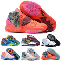 Wholesale kyrie new basketball shoes resale online - 2020 New Mens Sample Kyrie Kids Basketball Shoes For Mens Sneakers s VI Kyrie Shoes Man des Chaussures Zapatos