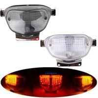 Wholesale integrated led tail lights motorcycle for sale - Group buy Motorcycle Integrated LED Rear Tail Brake Light Turn Signal Stop Lamp Taillight For Suzuki GSXR600 GSXR750 GSXR1000 K1 K2