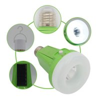 Wholesale 12w rechargeable led bulb resale online - 12W W Portable Solar Powered Rechargeable LED Outdoor Indoor Multifunctional Tent Light Bulb Emergency Light