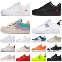 ingrosso scarpe da ginnastica scarpe-nike air force 1 af1 forces shoes shadow type one n354 tipo shadow scarpe da corsa triple nero bianco Chaussures donna mens trainer moda sport sneakers Platform