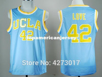 Wholesale discount sports jerseys for sale - Group buy Discount College Basketball Jerseys UCLA Bruins Kevin Love Jersey Men Blue For Sport Fans Stitched Good Quality Ncaa