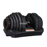 1090 10-90 Pounds Home Adjustable Dumbbell Silicon Steel Sheet Plastic Fast Automatic Adjustment Weight Lifting Indoor Fitness