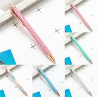 Wholesale silver parker pens for sale - Group buy vdYwu Shipping Stationery Office Supplies pens escolar Pen Pen School Metal push Parker Sonnet Gold Silver gift Color Ballpoint Clip material