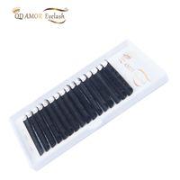Wholesale korean fake lashes resale online - QD AMOR lines Korean false mink lashes individual fake eyelash extension supplies
