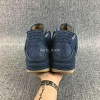 Wholesale Ls New Denim Travis s Men Basketball Mens Blue Jeans Sneakers Outdoor Trainers Basket Ball Man Zapatos Sports Shoes
