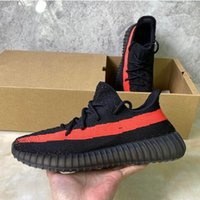 Wholesale free run shoes black for sale - Group buy Ice Blue Mens Womens Kanye West Black Reflective Running Shoes Static Cinder Flax Beluga