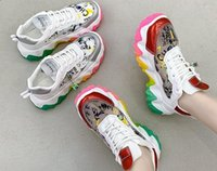 Wholesale very shoes resale online - Korean Style Outdoor Shoes Fashion Trendy Sports very popular height increasing shock absorption Cute doodle Eye catching