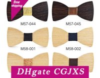 Wholesale boys bowtie for sale - Group buy Wooden Bow Tie Children S Top Grade Boys Baby Wooden Bowtie Performance Gifts Novelty Exquisite Hiah Quality Children One Size