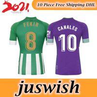 Wholesale 2020 Royal Betis Soccer Jerseys JOAQUIN camiseta de futbol Mens Top Thailand football shirt