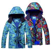 Wholesale red snowboard jackets resale online - Brand New Men Ski Jacket Waterproof Windproof Man Snowboard Jacket Winter Thermal Thick Coat Male Winter Snow Snow Coat
