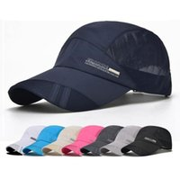 Wholesale womens black baseball cap resale online - Cap Baseball Sports Caps Unisex Cycling Golf Outdoor Womens Summer Running Hats Fishing Casual For Breathable Mens Caps dhzlstore GkLwM