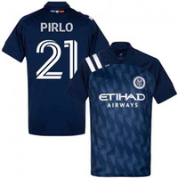 Wholesale jersey city resale online - 20 FC Soccer New York City Sean Johnson Jersey DAVID VILLA LAMPARD PIRLO Football Shirt Kits Uniform Home