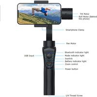 2020 New Arrival S5B 3-Axis Handheld Stabilizers Anti-shake Stabilizer Mobile Phone Bluetooth Steady Stabilizers with Free Tripod