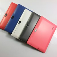 Wholesale Multi Color Q88 A33 Kids Tablet PC quot MB GB Quad Core Android Allwinner Dual Camera WiFi Children Study Lesiure Playing Time
