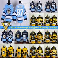 Wholesale lemieux 66 jersey for sale - Group buy Pittsburgh Penguins Jersey Sidney Crosby Evgeni Malkin Kris Letang Jake Guentzel Lemieux hockey jerseys