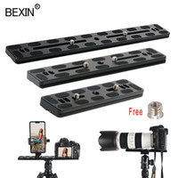 Wholesale arca swiss quick release resale online - Dslr camera plate tripod plate quick release adapter base camera mount for dslr arca swiss ball head tripod
