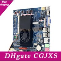Wholesale Small Host Cpu Quad Core Set Mini Pc Integrated Industrial Control Small Motherboard