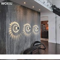 Wholesale woxiu for sale - Group buy WOXIU W LED Wall Light Aluminium ceiling lights Bathroom Lamp Modern stahler effect Bathroom livingroom Wall Light