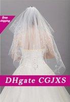 Wholesale wedding head veils resale online - 2020 Bride Wedding Veil Wedding Dress M Veil Hand Embroidery Bride Veil Head Accessories For Special Wedding Party