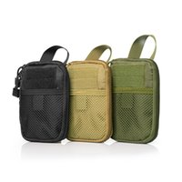Wholesale waist bag for tools for sale - Group buy New Outdoor Tactical Bag Molle Waist Fanny Pack Cell Phone Pocket Belt Waist Bag Phone For Tool