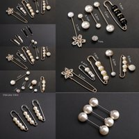 Wholesale button clip pin for sale - Group buy Brooch small waist closing mouth anti exposurenail button clothes Pin Clothes Pin fixed clip waistband skirt small artifact female x21Ss x21