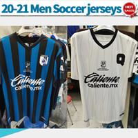 Wholesale mexico jerseys resale online - Querétaro F C soccer Jerseys home blue Mexico league Soccer Shirts away white customized men Football Uniforms