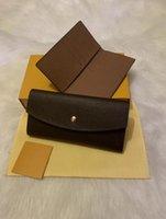 Wholesale zipper money pouches for sale - Group buy 2020 Top quality original leather classic designer wallet fashion leather long purse money bag zipper pouch coin pocket note designer clutch