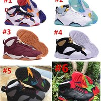 Wholesale wing shoes for boys resale online - Sneakers new kids Shoes s VII Basketball for Boy many colors US