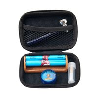 Wholesale rolling filter tips for sale - Group buy Tobacco Kit Glass Smoking Pipes For Herb Plastic Tobacco Herb Grinder Classic Size Acrylic Rolling Machine Glass Mouth Filter Tip