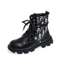 Wholesale girls autumn boots for sale - Group buy Boutique kids boots Genuine Leather girls boots princess girls ankle boot kids Martin boots kids shoes girls shoes children shoes B2119