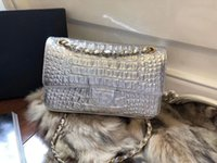 Wholesale gold silver thread resale online - high quality fashion shoulder bag handbag Gold silver Cross Body bags outdoor wallet casual bag